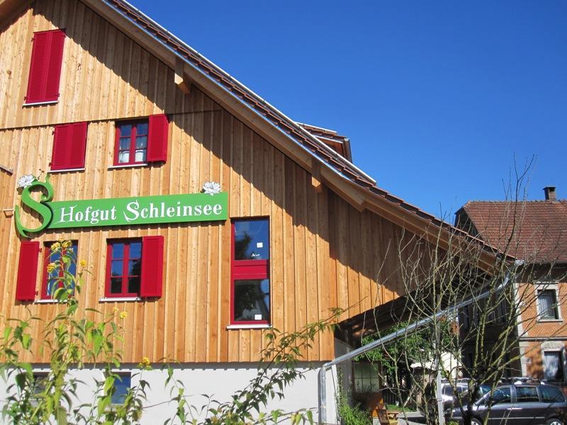 Wohnen Am Schleinsee Hofgut Schleinsee Ferien Auf Dem Bauernhof